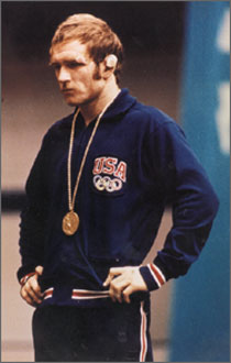 Dan Gable, from the 1972 Olympics