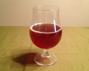 My homebrewed Christmas Ale, straight from the fermenter