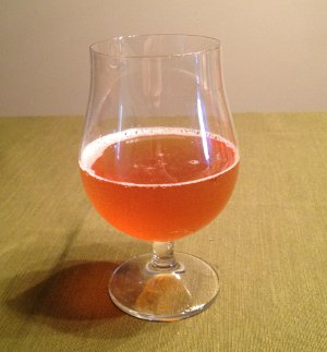 My IPA, straight from the fermenter
