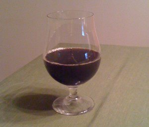 Homebrewed Stout - after fermentation, before conditioning