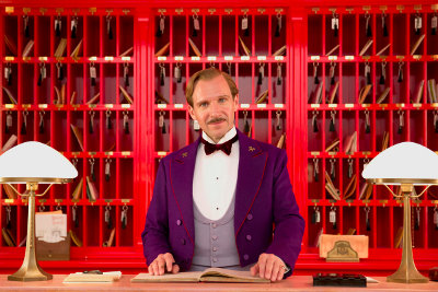 Ralph Fiennes in Grand Budapest Hotel