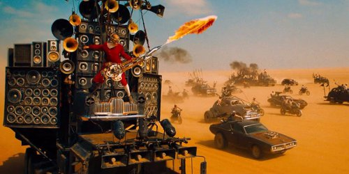 The Doof Wagon in Mad Max: Fury Road