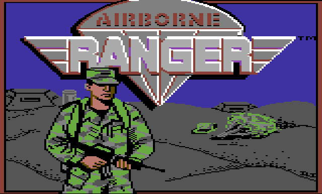 Airborne Ranger (initial screen)