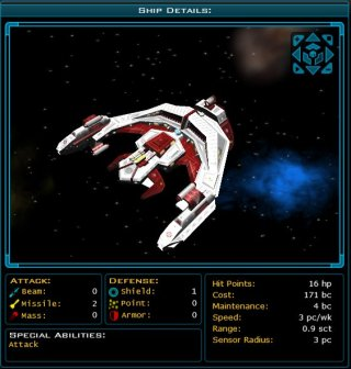The Space Lion Class Battle Cruiser