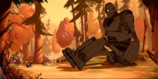 The Iron Giant Sits Down