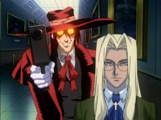 Alucard and Integra Hellsing