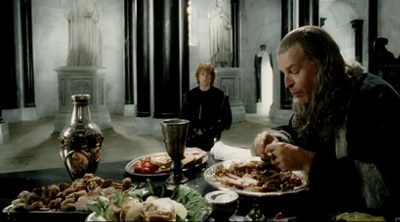 Denethor feasting