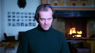 Jack Nicholson can stare real good