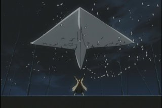 A paper airplane!