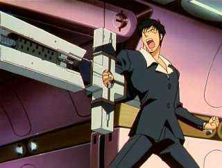 Wolfwood and his big gun