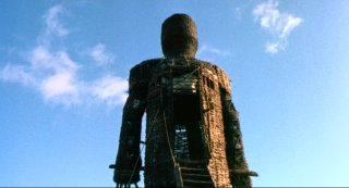 The titular Wicker Man