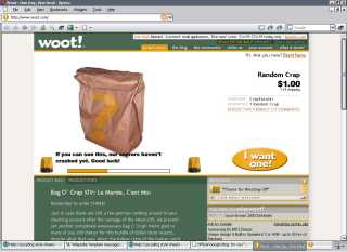 Woot: Bag O Crap (click for larger image)