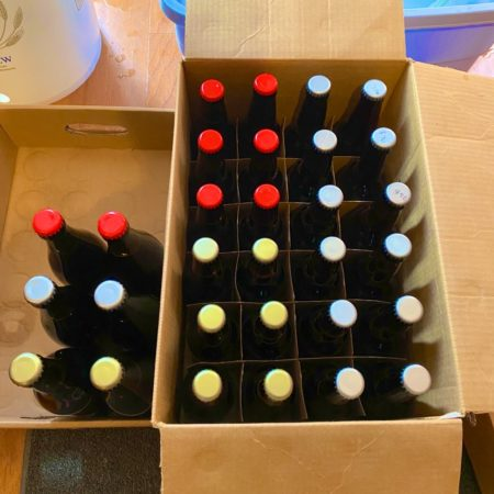 Bottled home brew