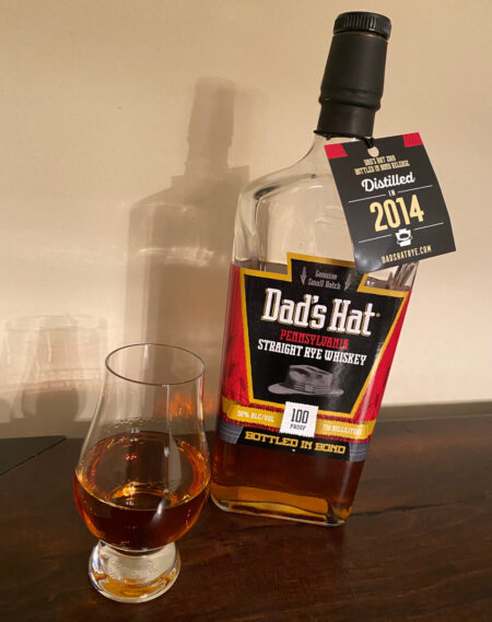 Dad's Hat Rye Bottled in Bond