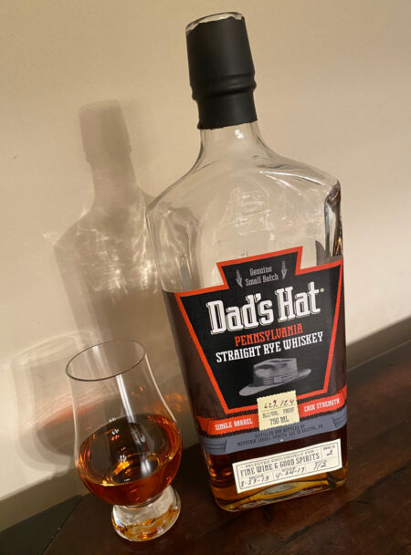 Dad's Hat Rye, Cask Strength Single Barrel Selection