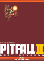 Pitfall II: Lost Caverns - Cover Art; click for a larger version
