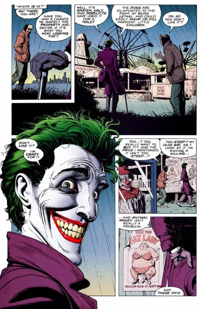 Reveal of the Joker