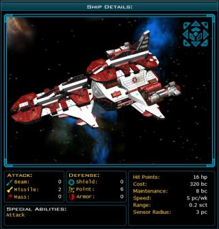 The Hunter Class Battle Cruiser