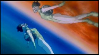 The Major likes to scuba dive