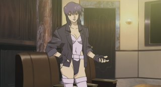Major Kusanagi's uniform