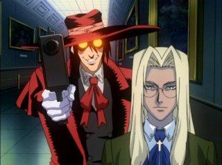 Alucard and Integra Hellsing
