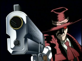 Alucard and his big gun