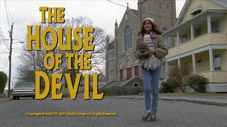 The House of the Devil Title Screen Freezframe!