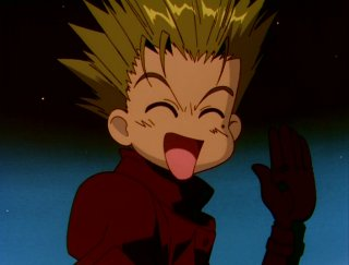Vash and Silly Face