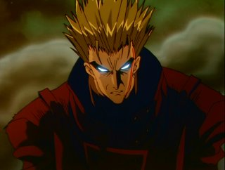 Vash the Stampede, channeling Spawn