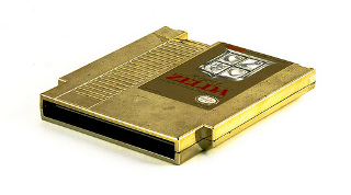 Zeldas Gold Cartridge