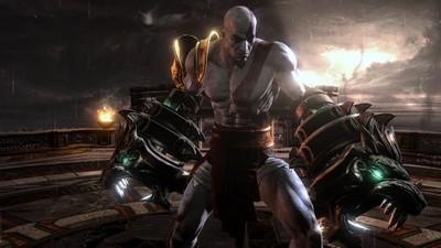 Kratos rockin the Nemean Cestus