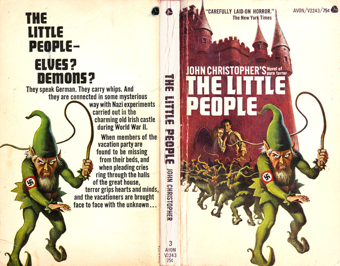 The Little People by John Christopher, a paperback from hell if ever there was one