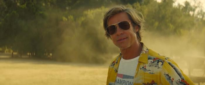 Cliff Booth in Once Upon a Time in Hollywood