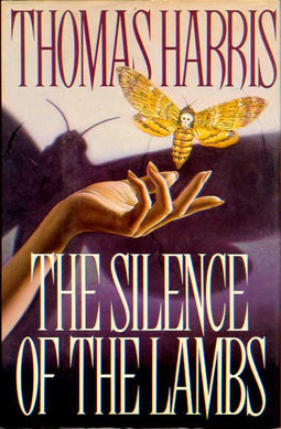 Silence of the Lambs First Edition Hardcover Artwork