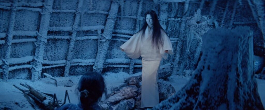 The Woman in the Snow from Kwaidan