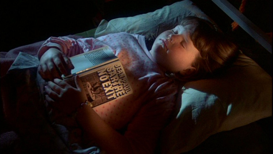 Child at Camp Crystal Lake fell asleep whilst reading Jean-Paul Sartre, No Exit...