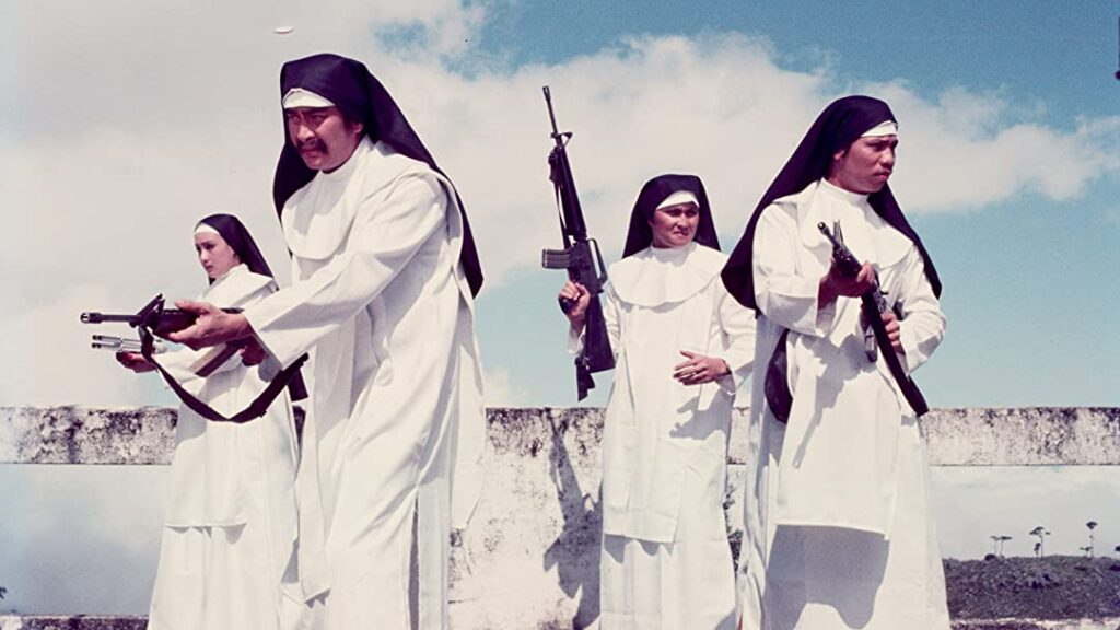 Gun-Toting Nuns from Cleopatra Wong
