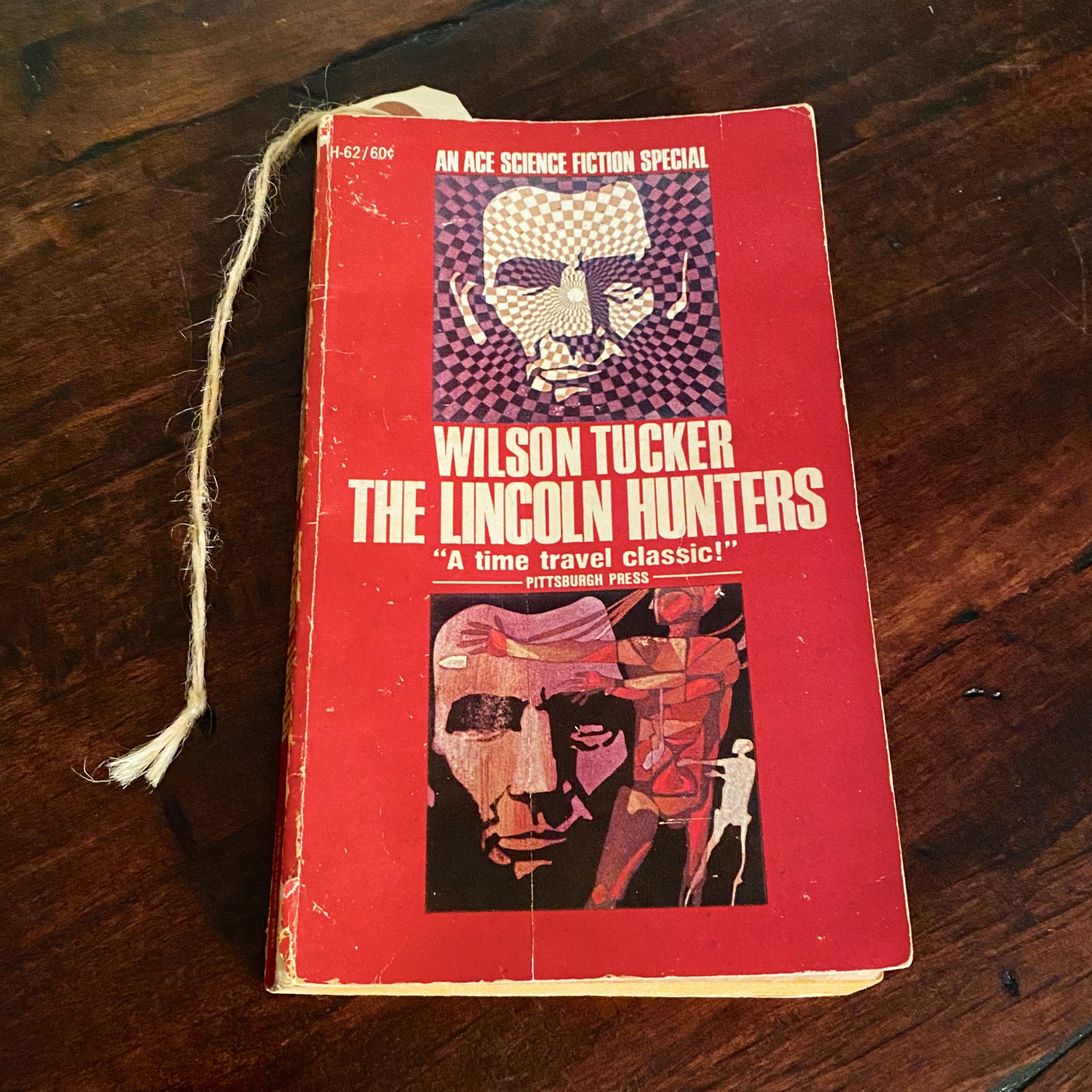 The Lincoln Hunters book cover