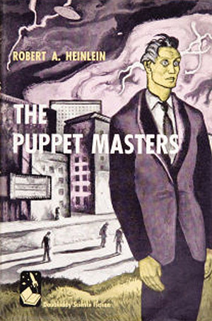 The Puppet Masters book cover
