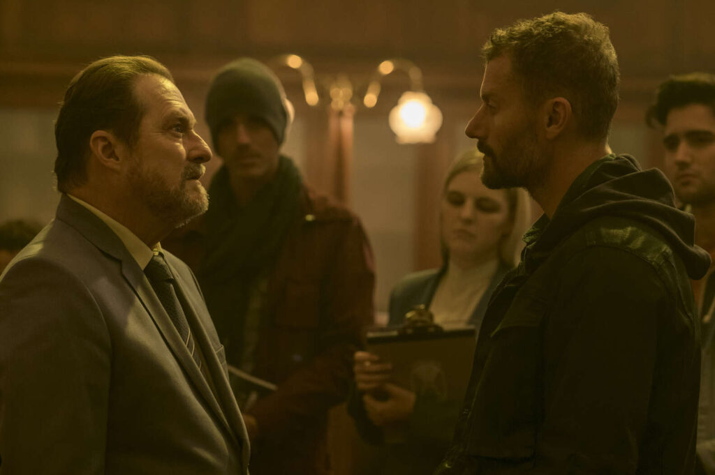 Stephen Root and James Badge Dale in The Empty Man