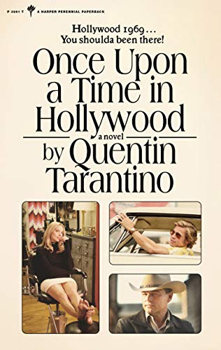 Once Upon a Time in Hollywood by Quentin Tarantino - book cover